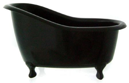 deko badewanne schwarz black ohne inhalt und. Black Bedroom Furniture Sets. Home Design Ideas