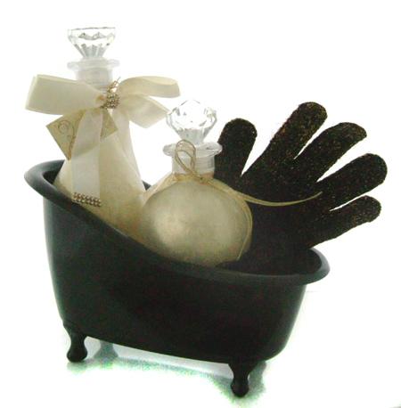 Deko badewanne schwarz black ohne inhalt und for Dekoration schwarz